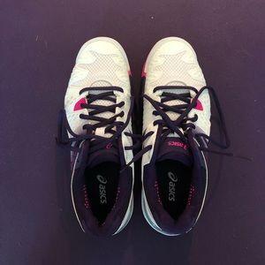 Asics gel resolution shoes